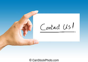 Contact Us Concept