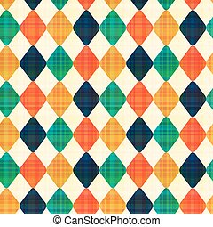 seamless abstract geometric rhombus pattern