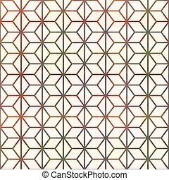 seamless geometric lines pattern