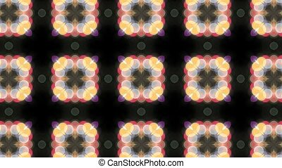 Floral Pattern Kaleidoscope 1080p - Colorful Symmetrical...