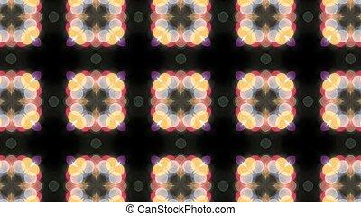 Floral Pattern Kaleidoscope 1080p