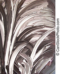 abstract feathery grass