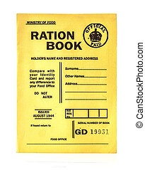 1944 war time ration book