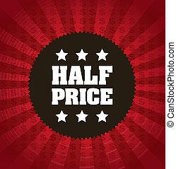 half price frame