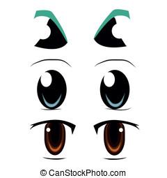 three types of eyes