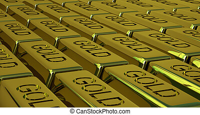 Goldbars - Lots of goldbars