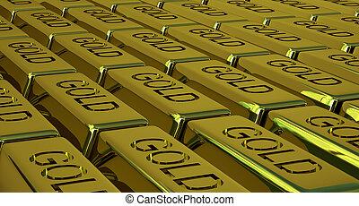 Goldbars - Lots of goldbars