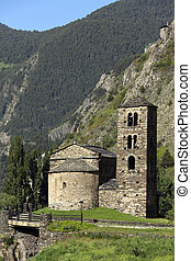 Andorra - An old chapel in the small autonomous principality...