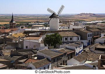 Campo de Criptana - La Mancha - Spain - Campo de Criptana in...