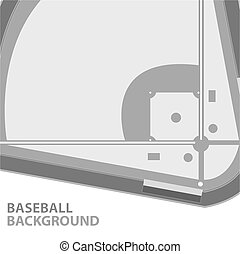 Baseball background - Unique baseball background with a...