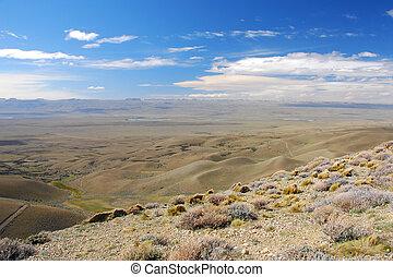 Patagonian pampa - Argentina