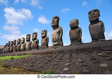 Ahu Tongariki - Easter Island