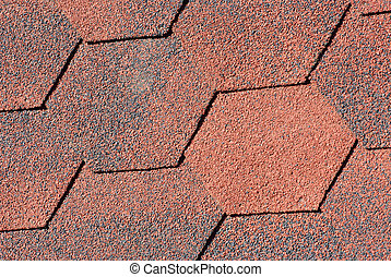 Seamless pattern of shingles roof