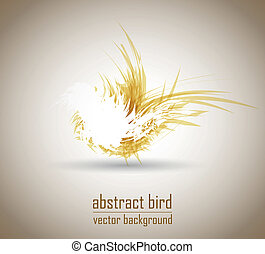 abstract bird vector