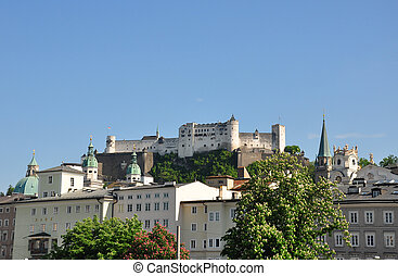 Festung Hohensalzburg in Salzburg