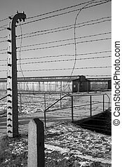Birkenau Nazi Concentration Camp - Poland - Birkenau...