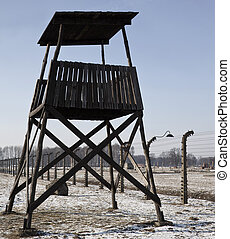 Auschwitz-Birkenau Nazi Concentration Camp - Poland -...