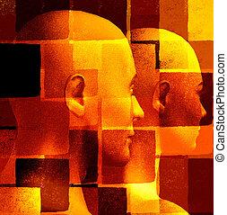 abstratos, figuras