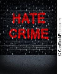 odio, crimen