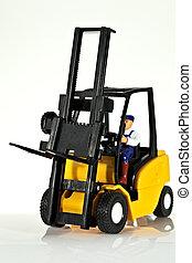Forklift - A toy forklift truck