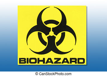 Biohazard Sign - Warning sign - Biohazardous Materials