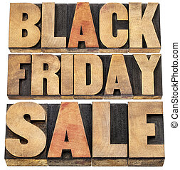 Black Friday sale - holiday shopping concept - isolated text...