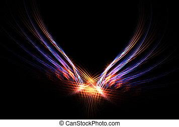 Phoenix Fire Bird - This Phoenix Fire Bird abstract fractal...