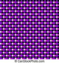 Cor-de-rosa, roxo, xadrez,  seamless, fundo