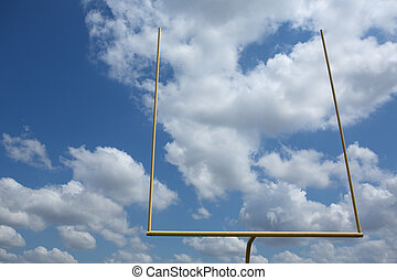 American Football Field Goal Posts - American Football Goal...