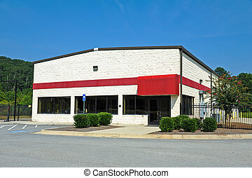 Available Commercial Building - A Vacant Commercial Building...