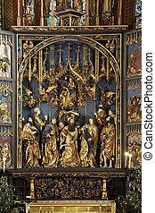 Church of St Mary - Krakow - Poland - The High Altar by Veit...