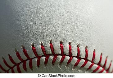 Baseball Macro Close up