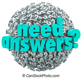 Need Answers Word Ball Question Marks Seeking Solution - A...
