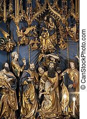 Kracow - Church of St Mary - Poland - The High Altar by Veit...