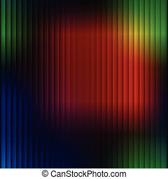 Rainbow Background Colorful Stripe Vector