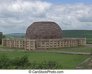 Sanchi Stupa two, Sanchi, Madhya Pradesh, India