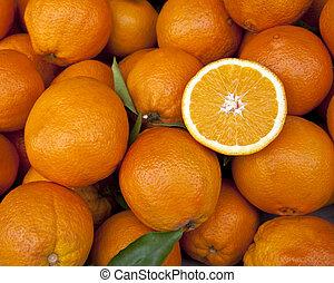 新たに, フルーツ,  -, オレンジ