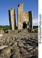 Edlingham Castle - Northumberland - England - Edlingham...