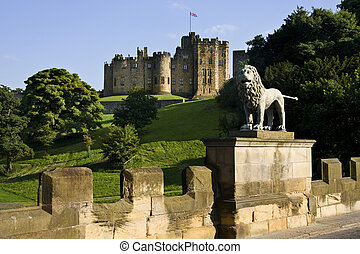 Alnwick Castle - Northumberland - England - Alnwick Castle...