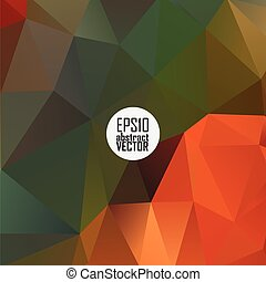 color theme vector abstract