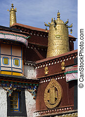 Jokhang Buddhist Temple - Lhasa -Tibet