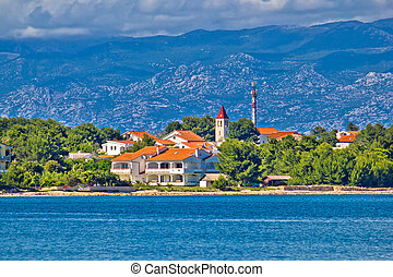 Island of Vir waterfront, Croatia - Island of Vir waterfront...