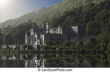 Castle Irland - Old castle by a lake...