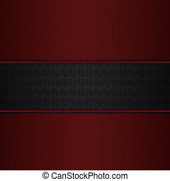 Maroon on dark pattern background - Abstract background with...
