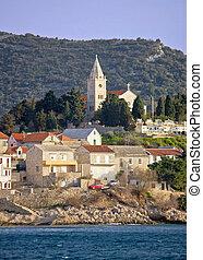 Historic town of Primosten in Dalmatia