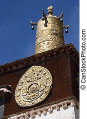 Drepung Buddhist Monastery - Lhasa - Tibet