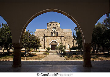 St Barnabas Monastery - Turkish Republic of Northern Cyprus...