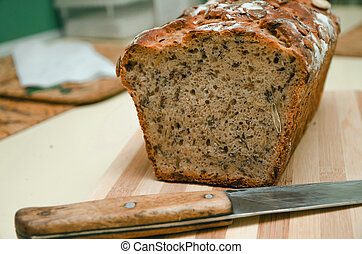 home-made bread