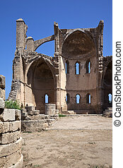 Famagusta - Turkish Cyprus - Ruins of St George of the...