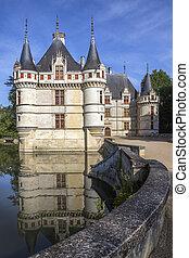 Azay le Rideau - Loire Valley - France - The early 16th...